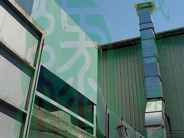 广州市克宁环保科技有限公司塑胶废气处理工程