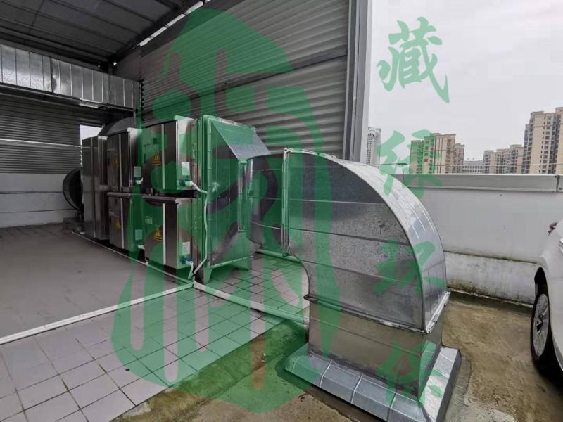 广州中升丰田汽车销售服务有限公司喷烤漆房废气处理工程